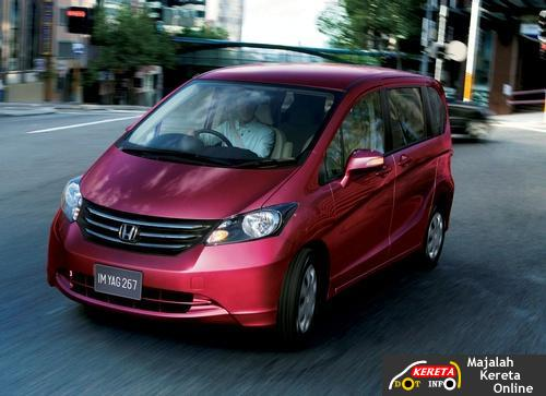 honda freed minivan
