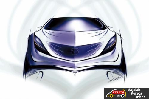 mazda concept front