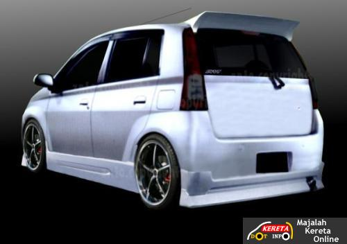 perodua viva modified car