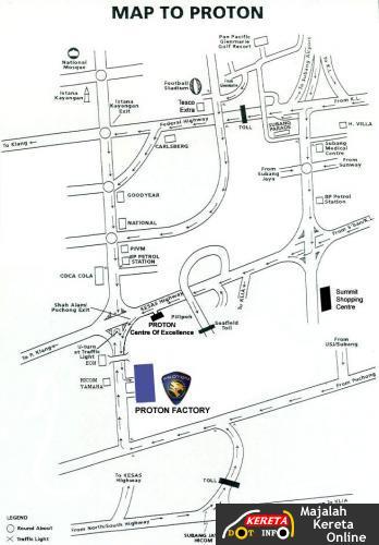 proton map
