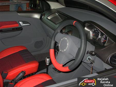Dashboard Proton Saga