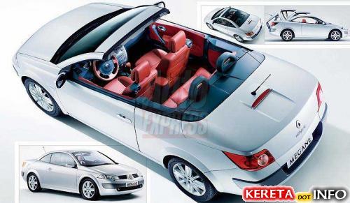 Renault Megane Coupe-Cabriolet all