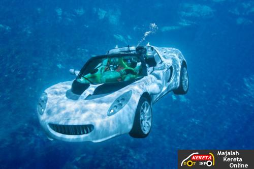 rinspeed underwater concept car