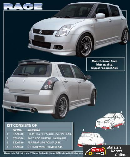 suzuki swift body kit