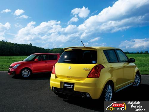 suzuki swift sport colour