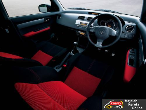 suzuki swift sport interior